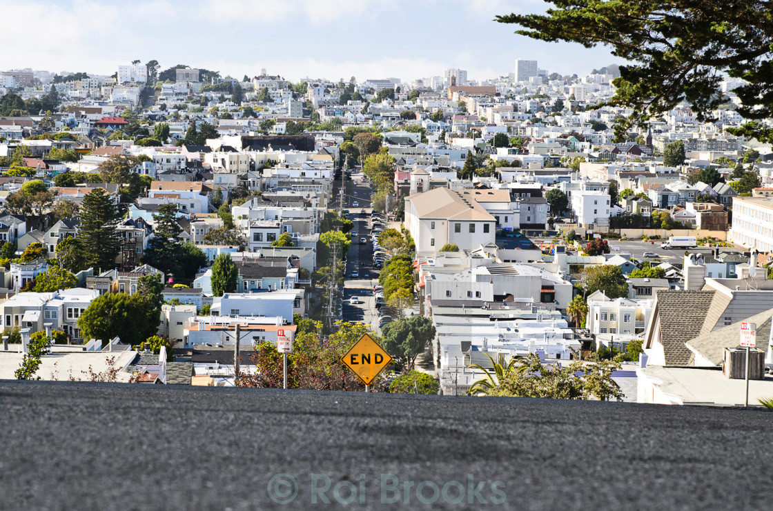 """Residential San Francisco"" stock image"