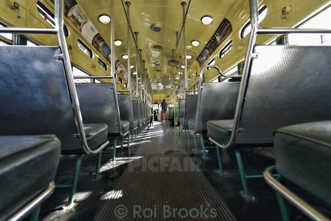 """""""Inside the carriage"""" stock image"""