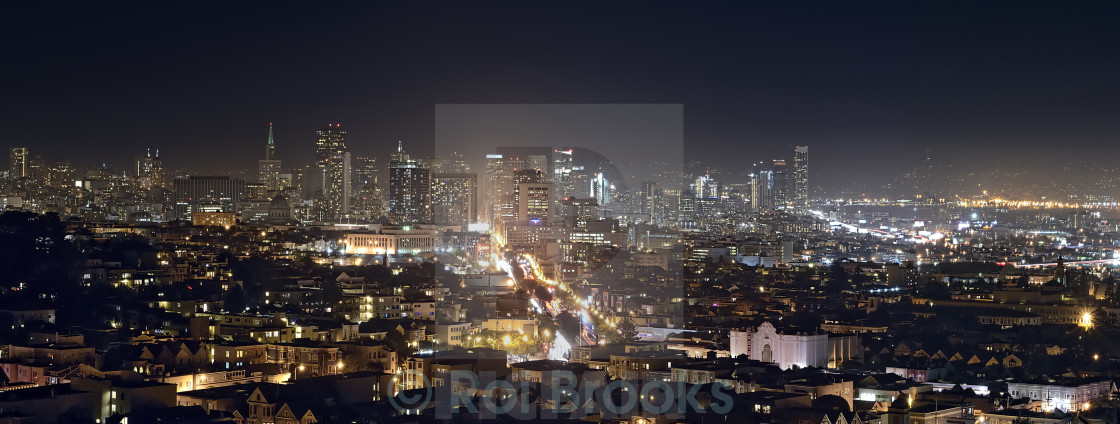 """City lights"" stock image"