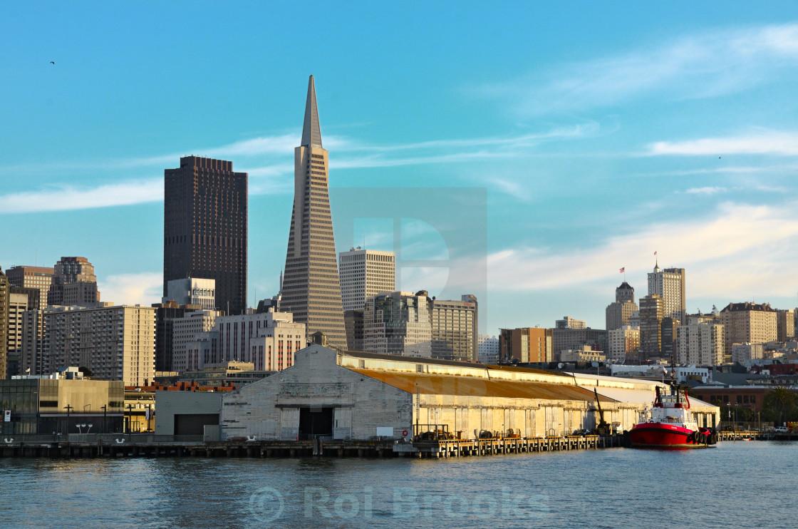 """San Francisco City Port"" stock image"