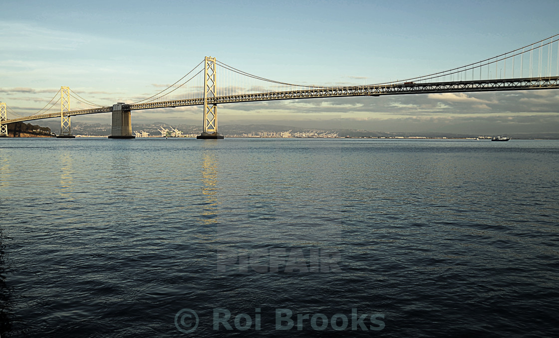 """San Francisco Bay Bridge"" stock image"