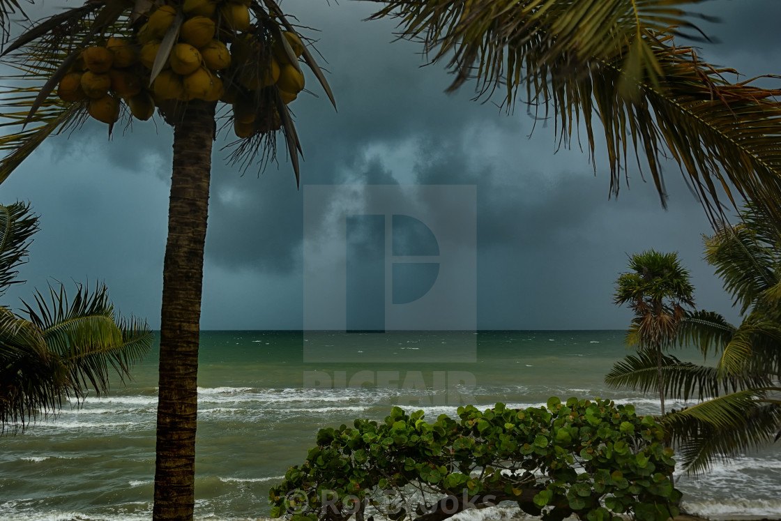 """Dark storm approaching"" stock image"