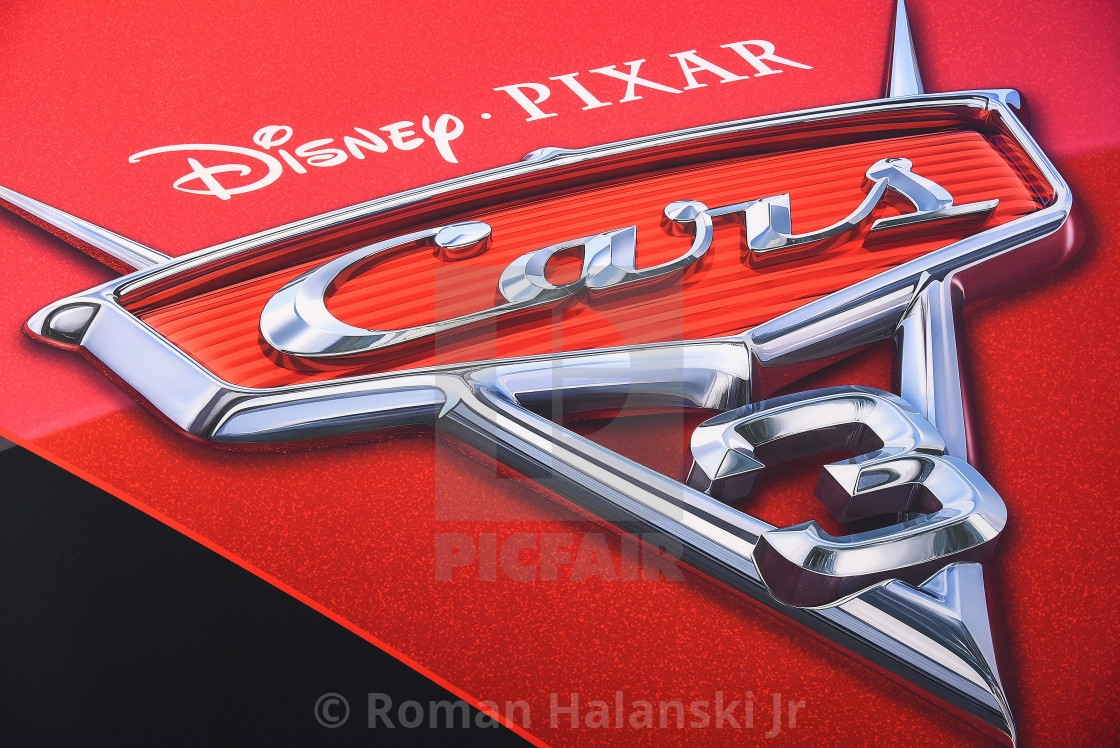 Disney Pixar Cars 3 Display At Naias In Detroit License For 211