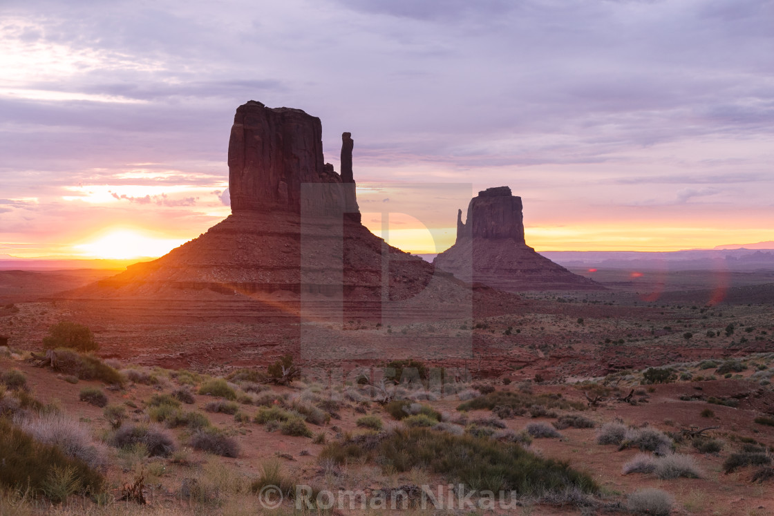 """Monument Valley Navajo Tribal Park"" stock image"