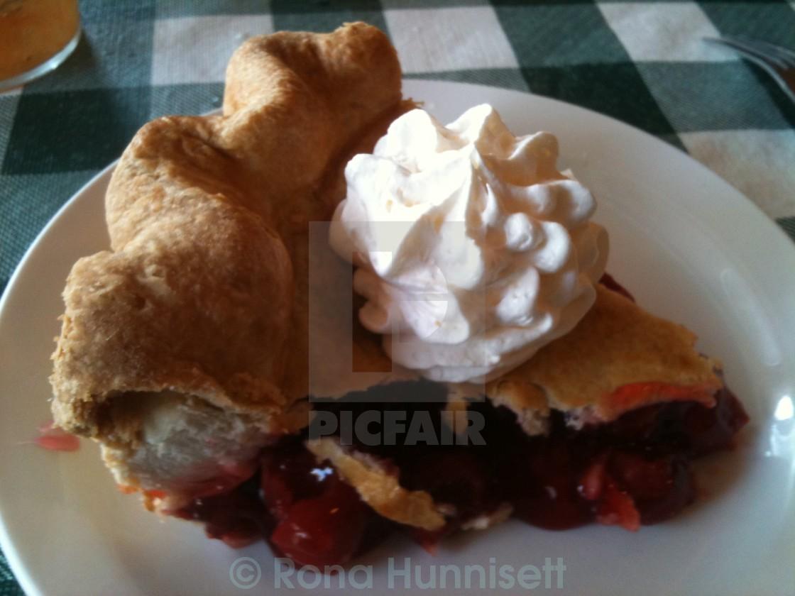 """""""Cherry pie"""" stock image"""