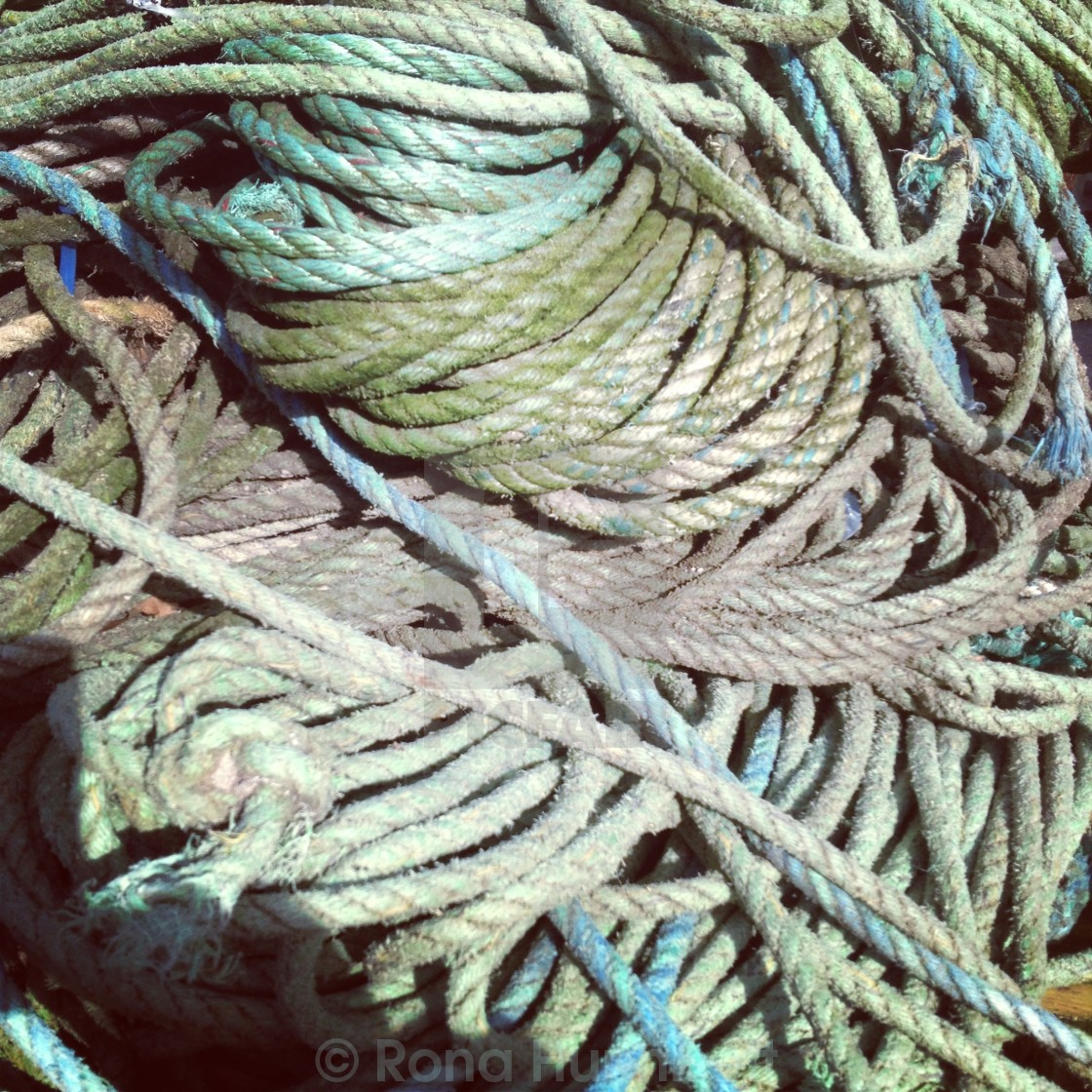 """Ropes"" stock image"