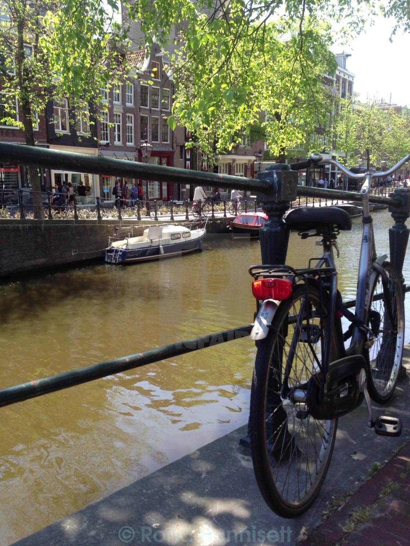 """Amsterdam bicycle"" stock image"