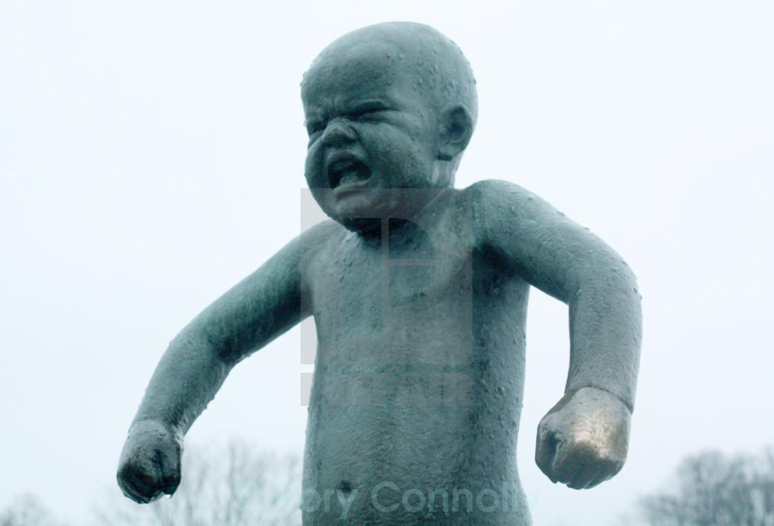 """""""Angry Boy"""" stock image"""
