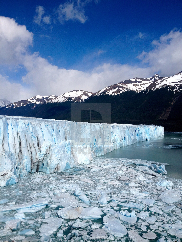 """""""Perito Moreno glacier argentina"""" stock image"""