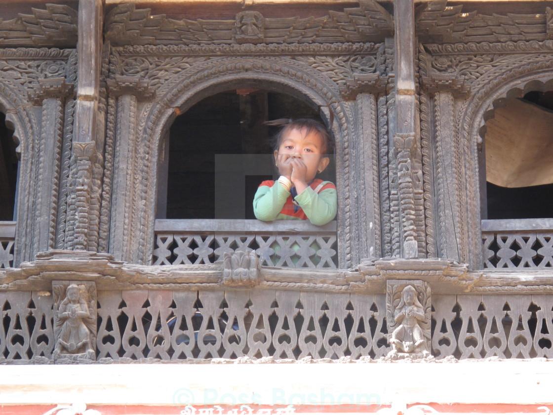 """Nepalese girl"" stock image"