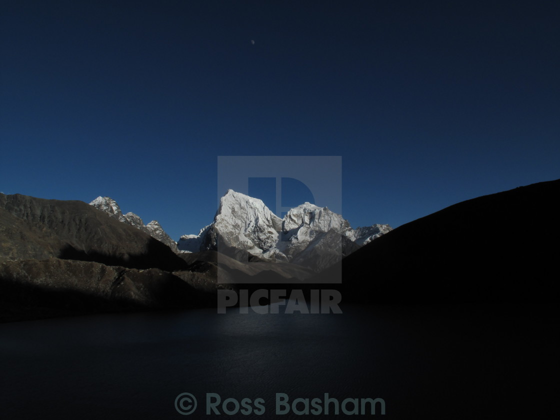"""Himalayas lansdacpe"" stock image"