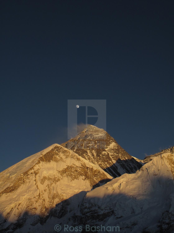 """""""Everest at sunrise (2)"""" stock image"""
