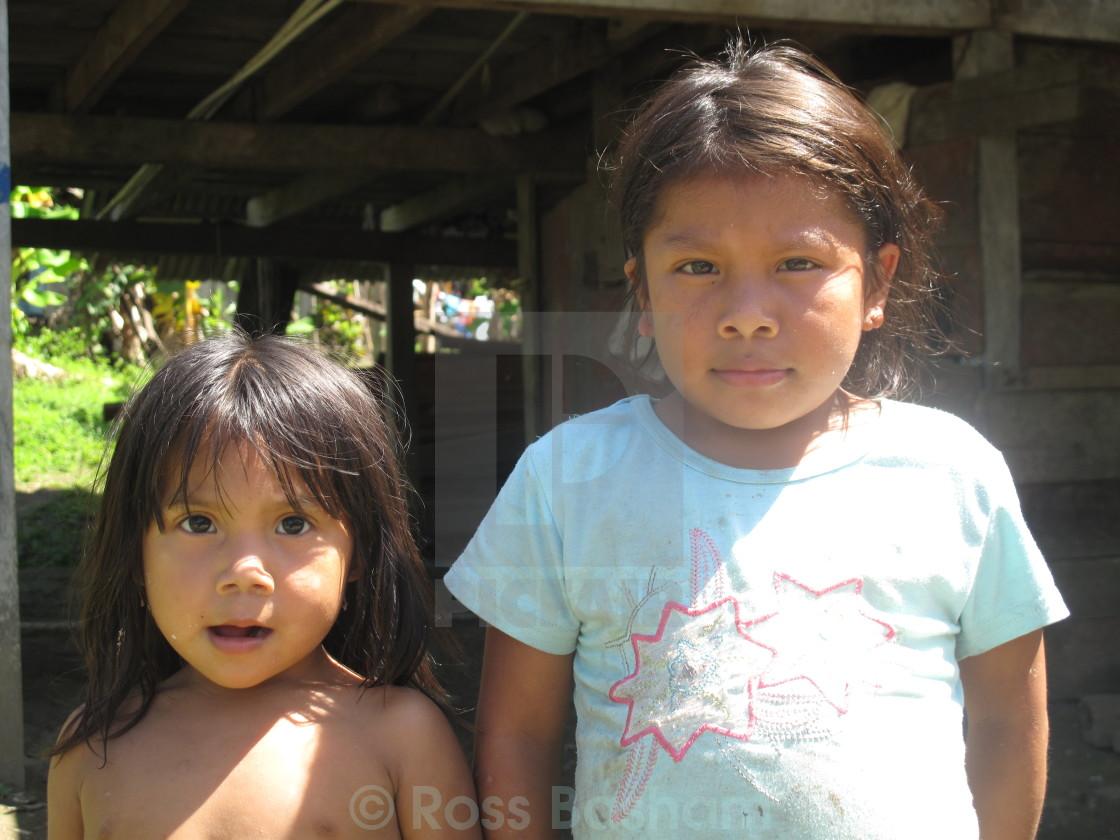 """""""Panama children"""" stock image"""