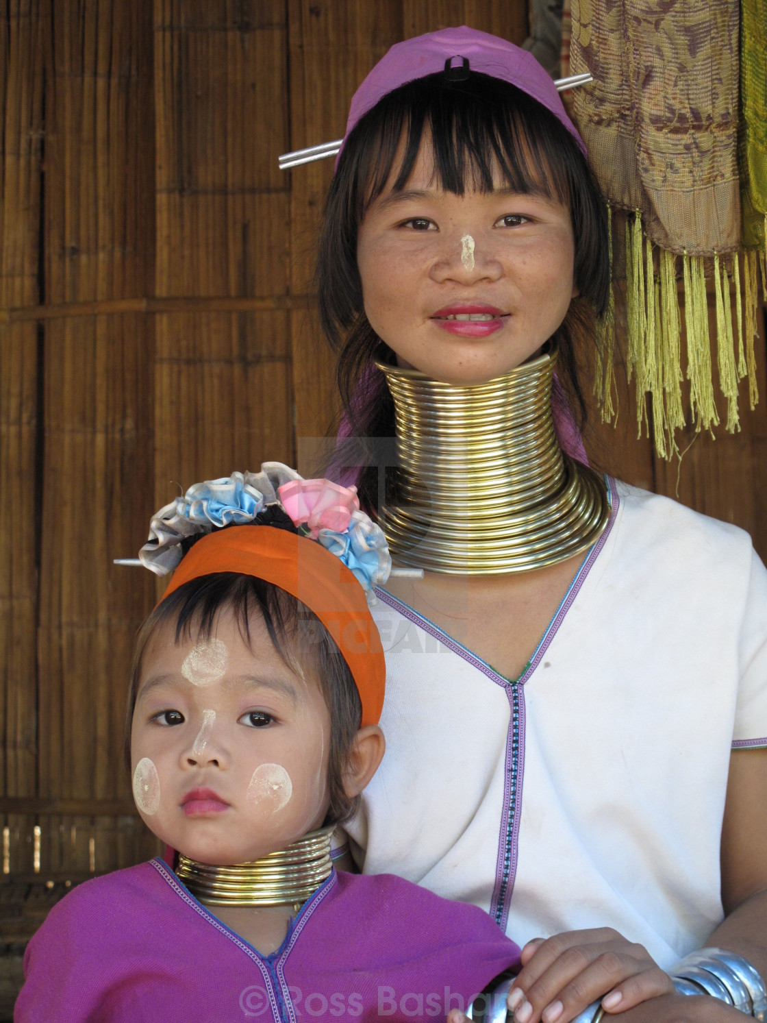 """Thai mother and child"" stock image"