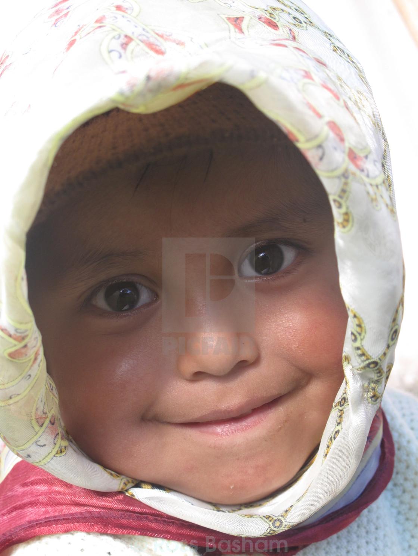 """""""Ecuador child"""" stock image"""