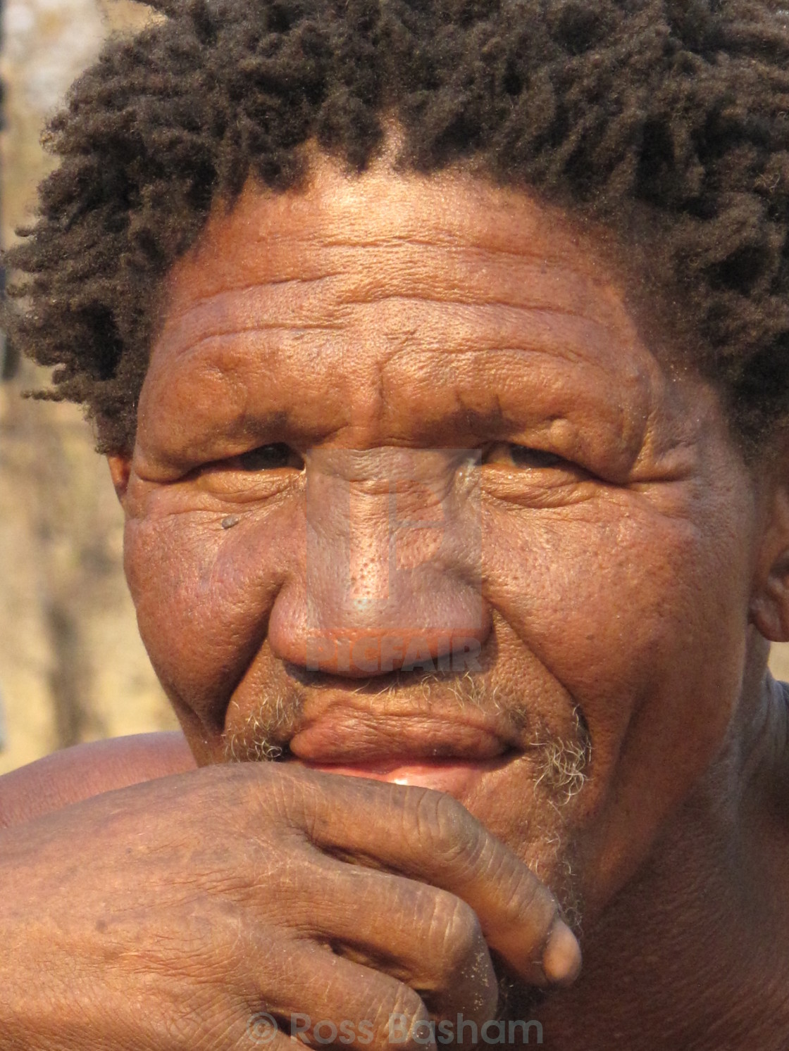 """Masai Man"" stock image"