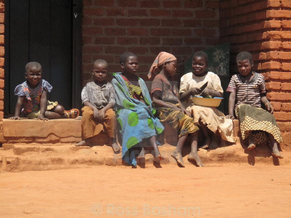 """African children socialising"" stock image"