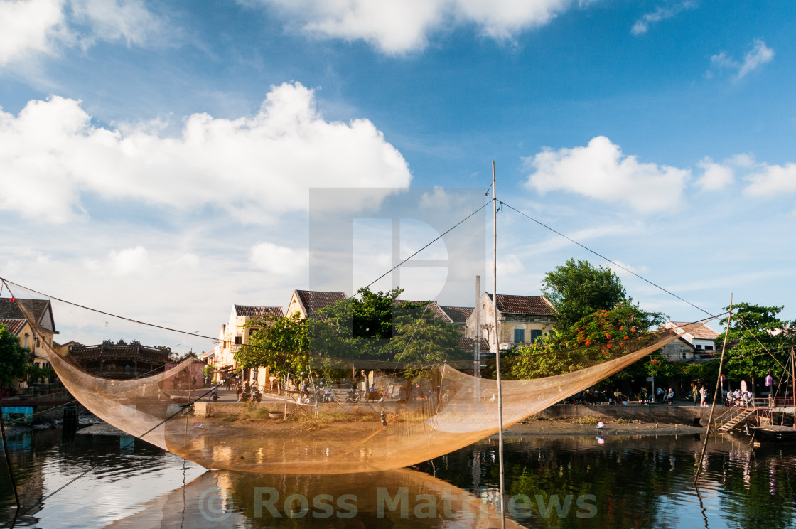 """Fishing Net"" stock image"