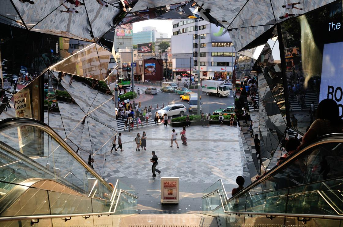 """Glass Shopping Mall"" stock image"