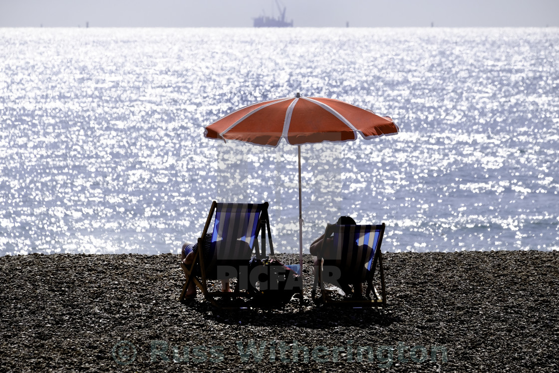 """beach umbrella"" stock image"