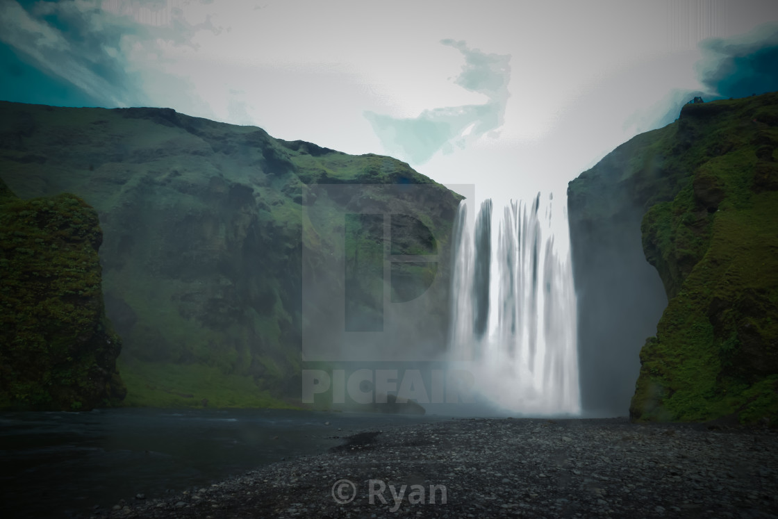 """waterfall"" stock image"