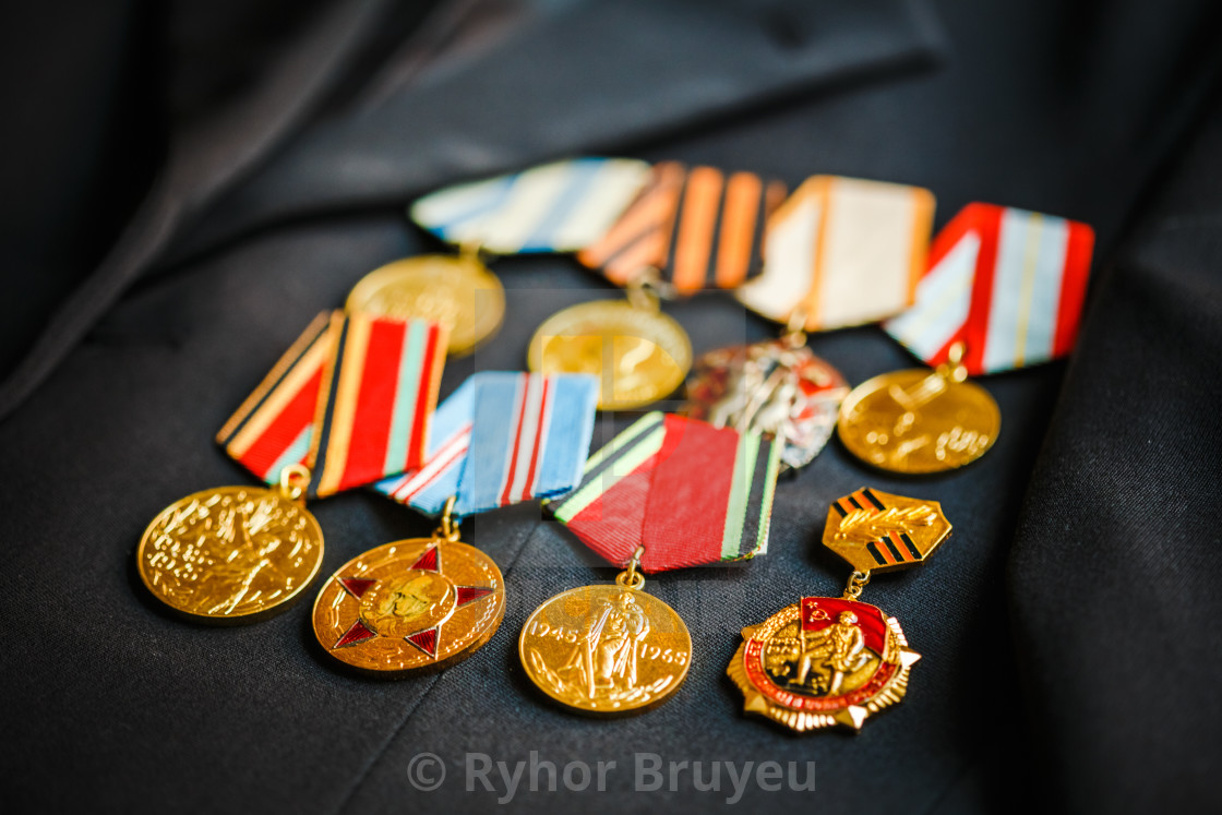 Anniversary medals of a victory in the Great Patriotic War