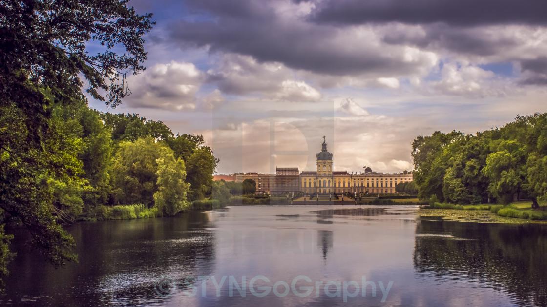 """Schloss Charlottenburg"" stock image"