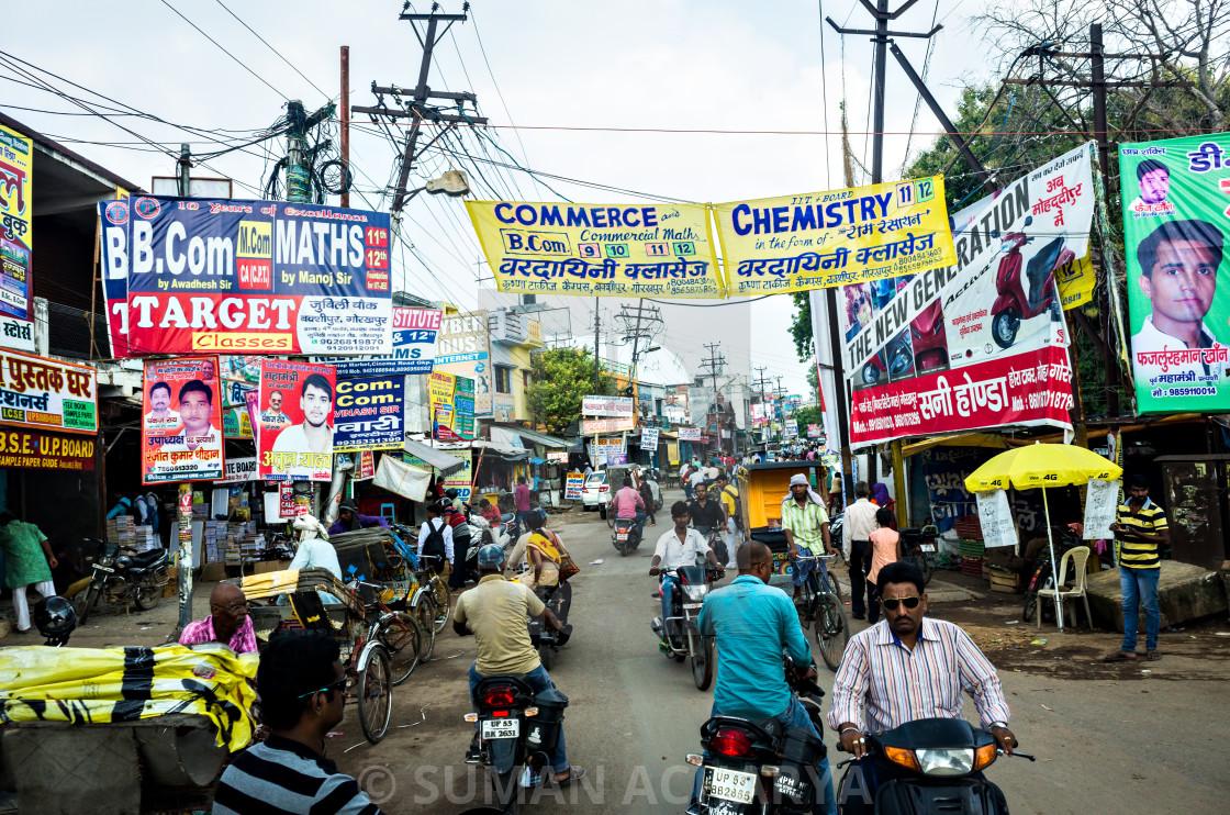 """""""Colourful Gorakhpur"""" stock image"""