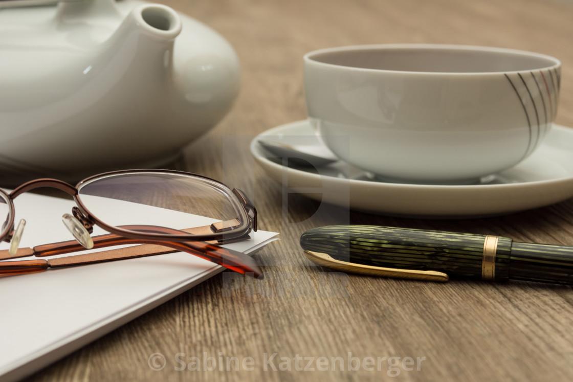 """Teatime"" stock image"