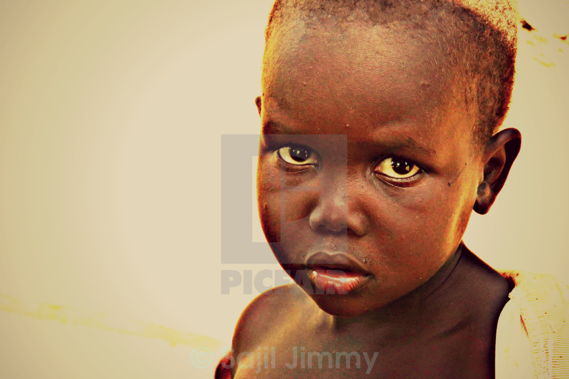 """""""Innocence of a child"""" stock image"""