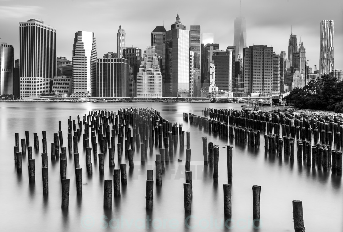 """New York, skyline"" stock image"
