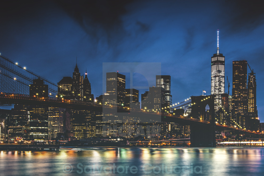 """New York City, skyline"" stock image"