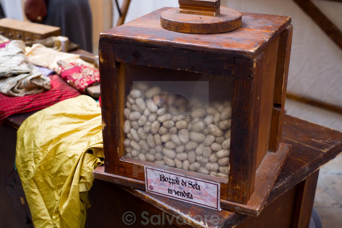 """handicraft silk"" stock image"