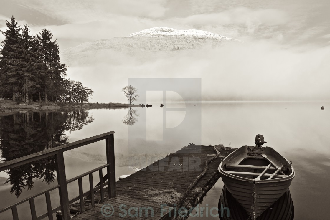 """Loch Awe"" stock image"
