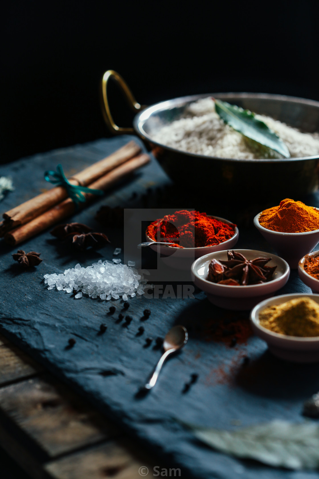 """Ingredients"" stock image"