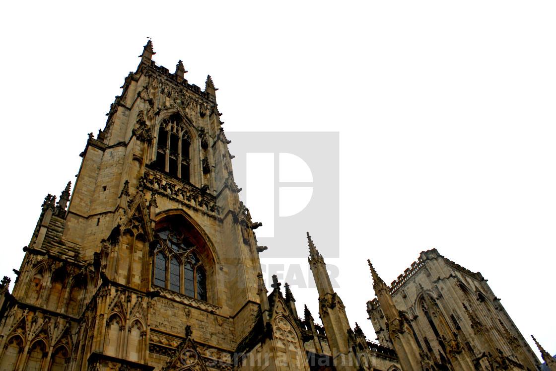 """York City Church"" stock image"