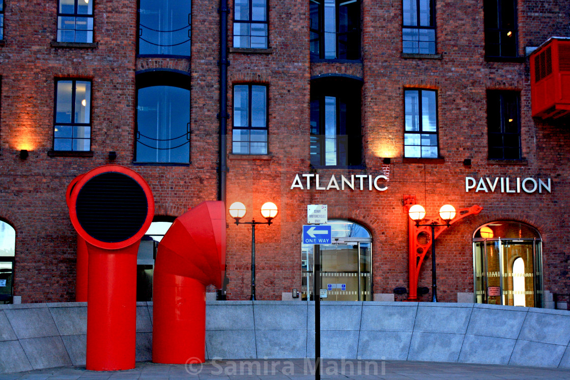 """Atlantic Pavilion"" stock image"