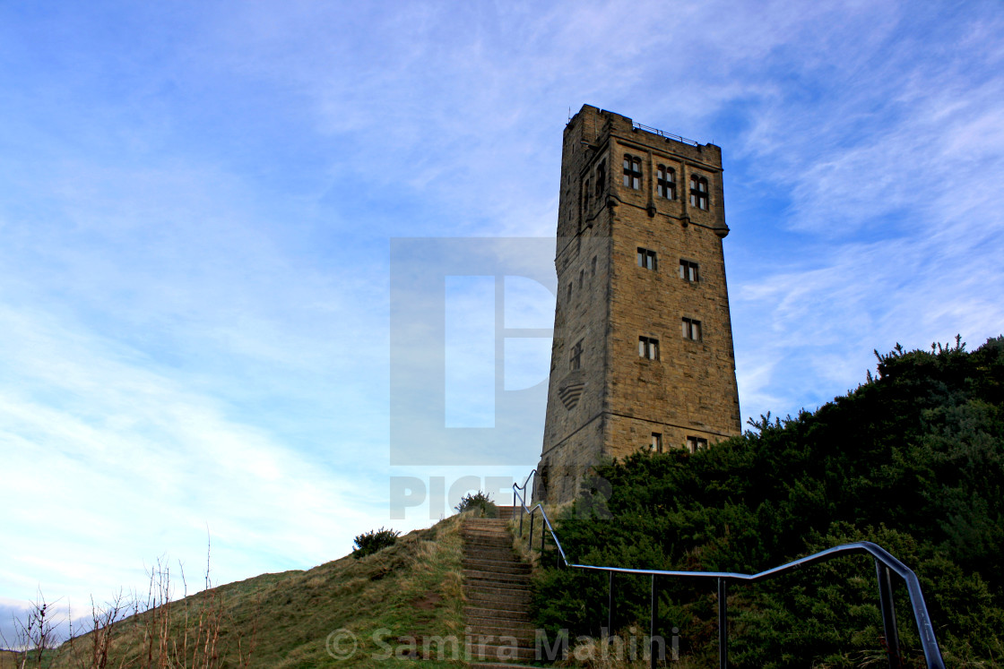 """Castle hill"" stock image"
