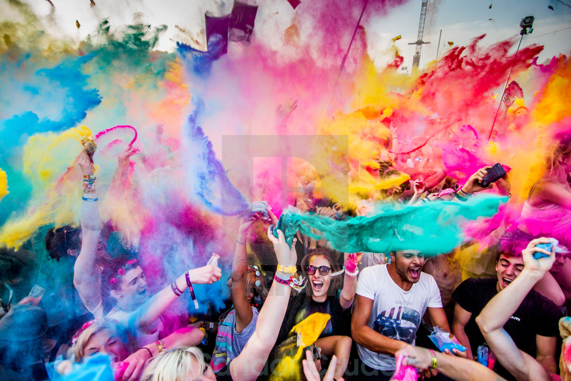 """Color party"" stock image"