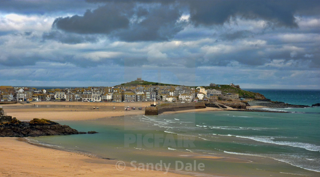"""St Ives"" stock image"