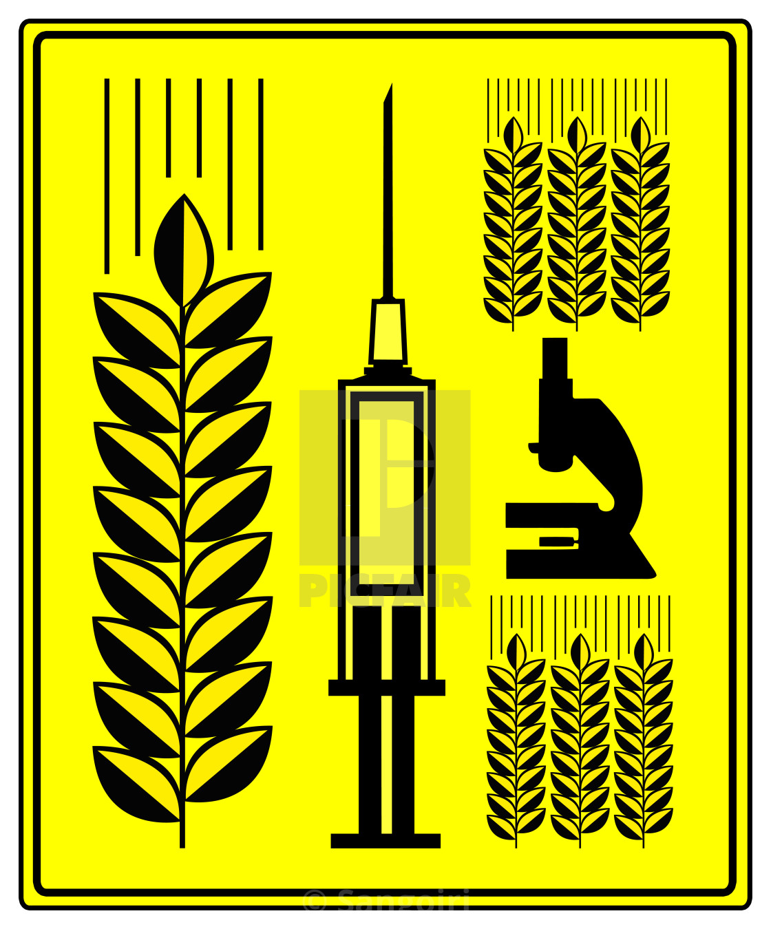 Genetically Modified Wheat - License, download or print for