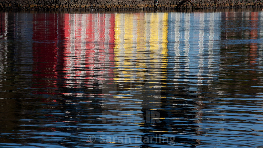 """""""Abstract Tobermory"""" stock image"""