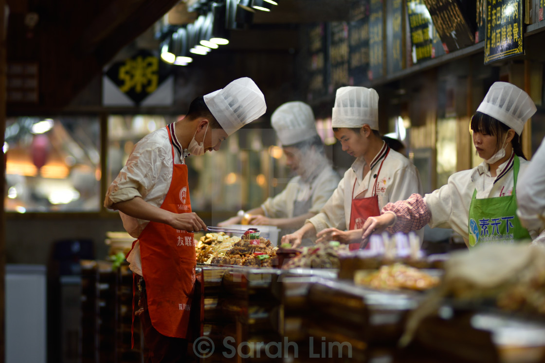 """Restaurant Lijang 2"" stock image"
