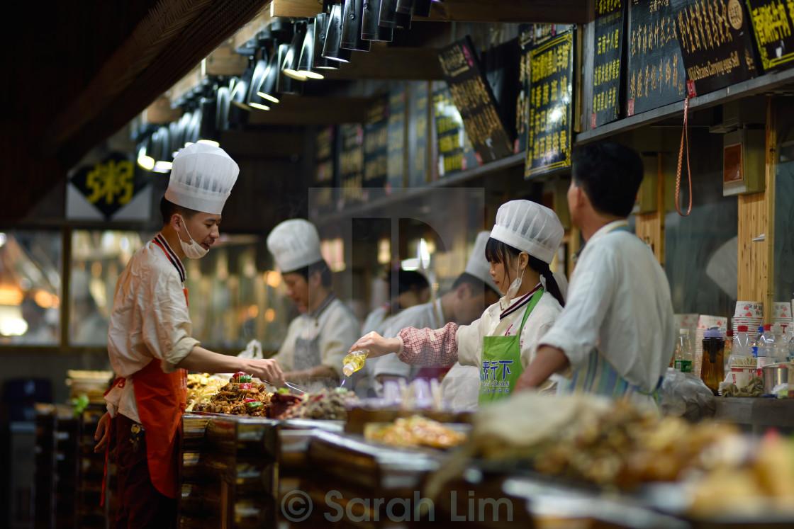 """Restaurant Lijang 1"" stock image"