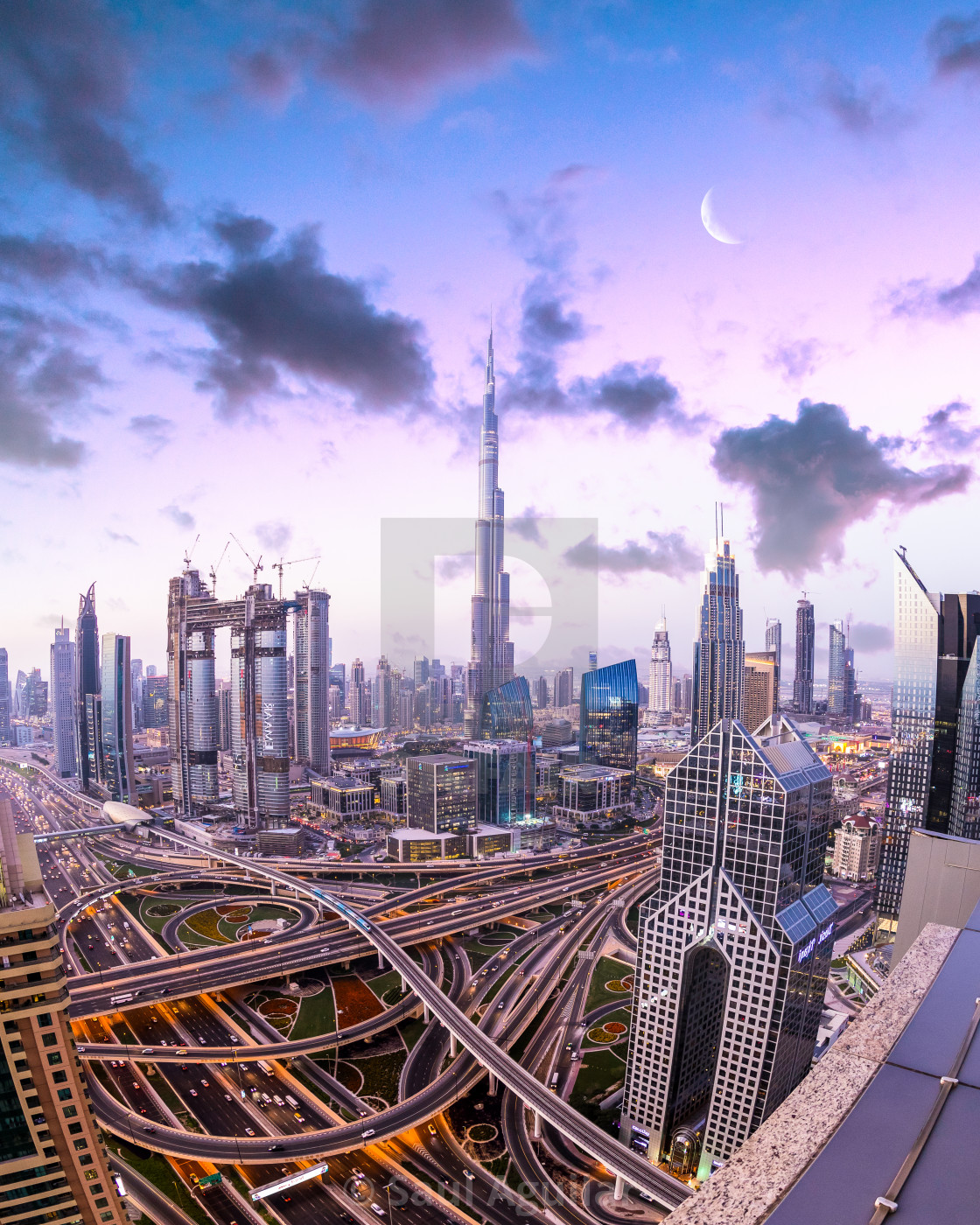 """Dubai and its magic"" stock image"
