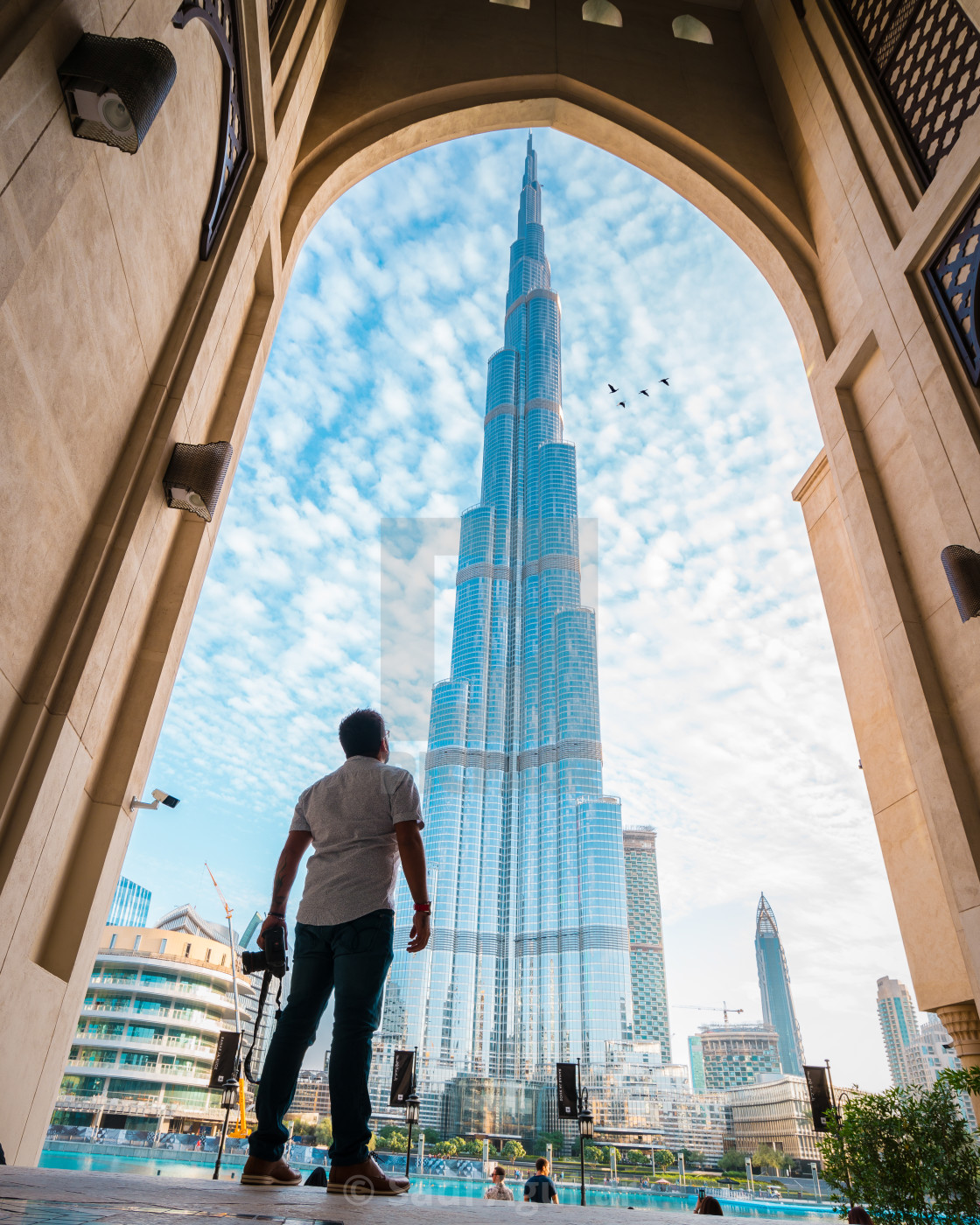 """Life in Dubai"" stock image"