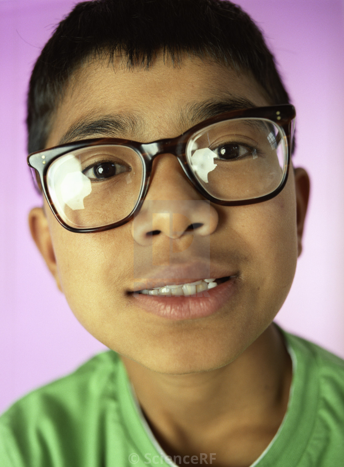 7953612c62bc Boy wearing glasses - License, download or print for £39.00 | Photos ...