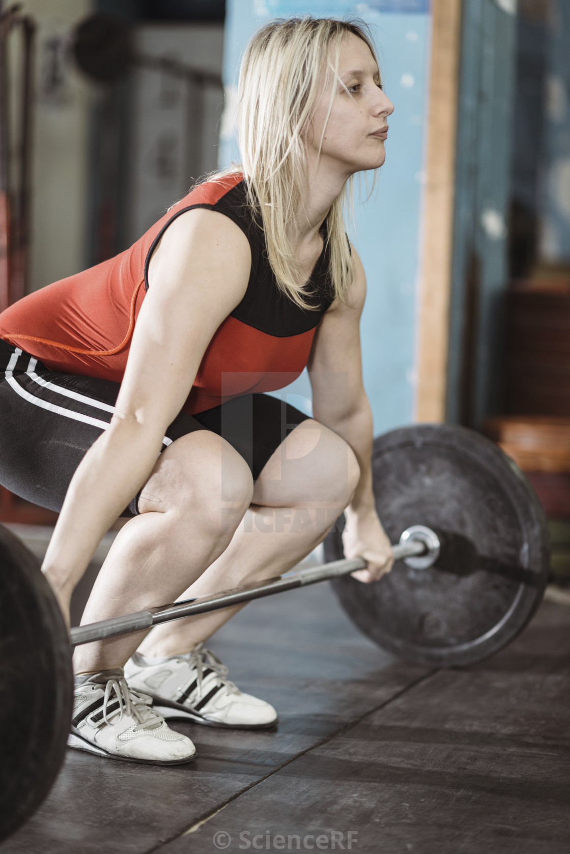 """""""Weightlifting"""" stock image"""