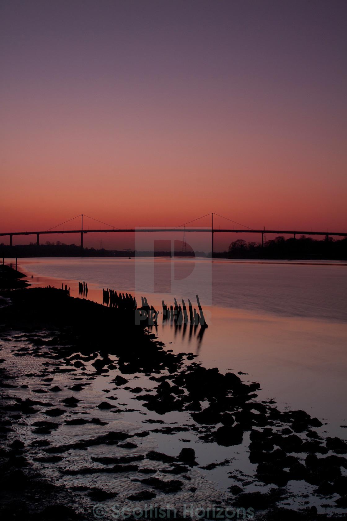 """Erskine Bridge"" stock image"
