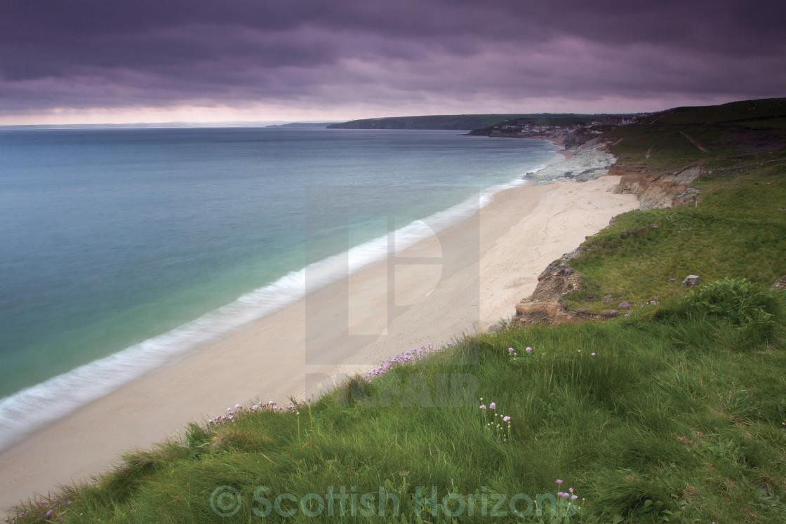 """""""Porthleven Sands"""" stock image"""